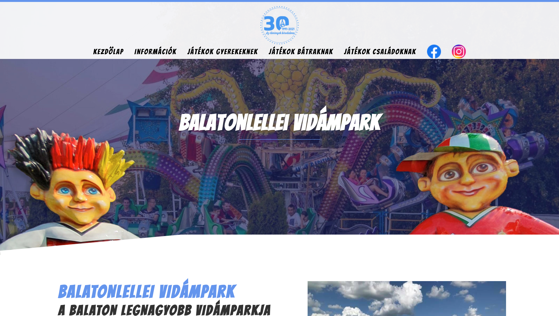 Balatonlellei Vidámpark