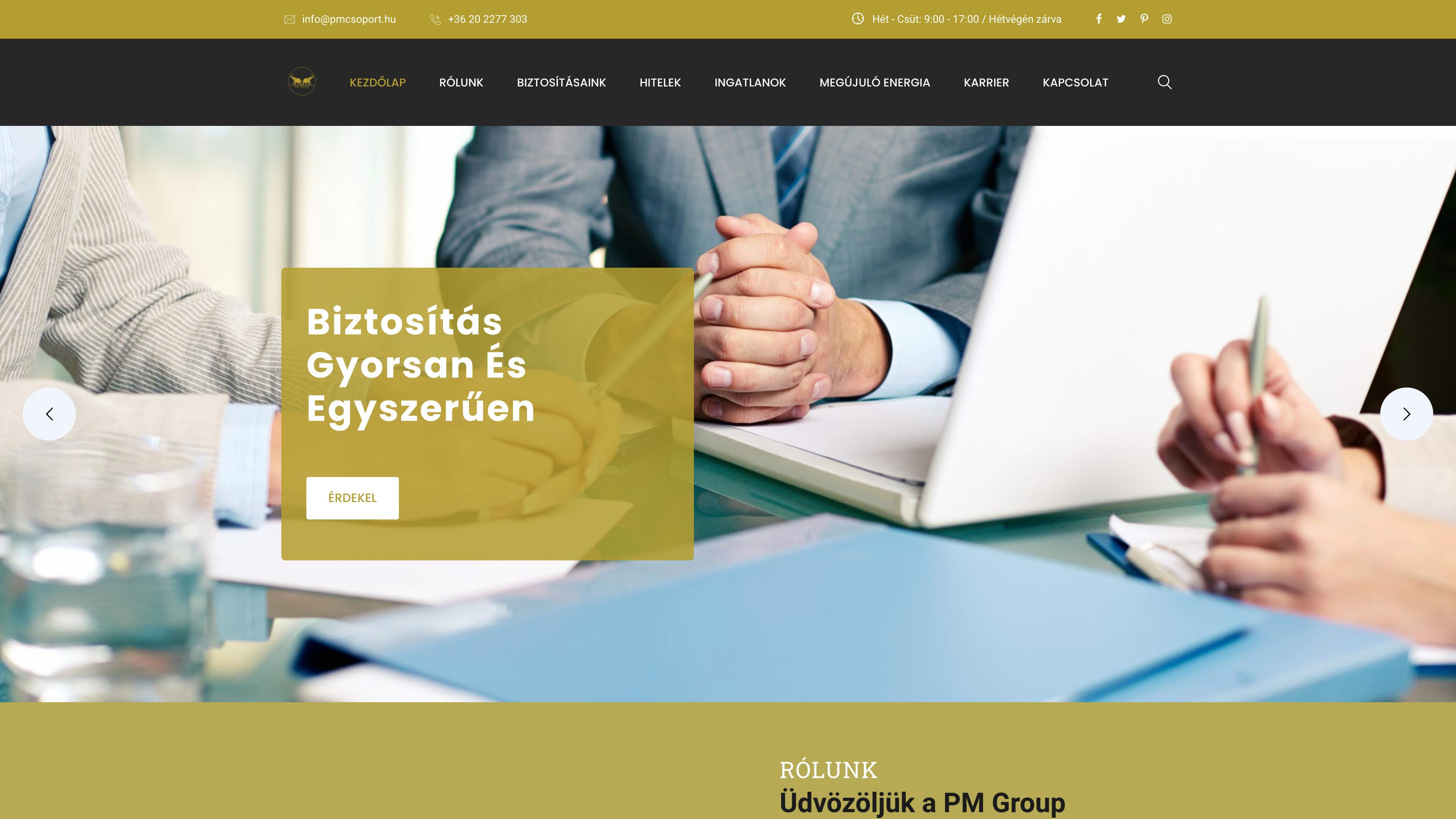 Pénzügyekről Másképp weboldal