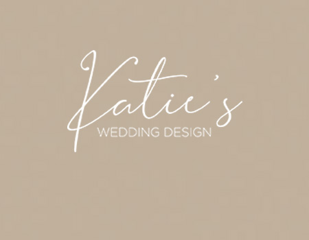 Katie's Wedding Design weboldal